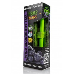 Hemp Bombs Disposable Wild Blueberry Jam 125mg