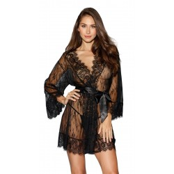 Robe - Extra Large - Black