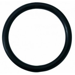 Black Rubber Cock Ring - 2 Inch
