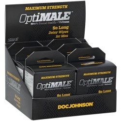 Optimale - So Long Delay Wipes for Men - 6 Pack  Display