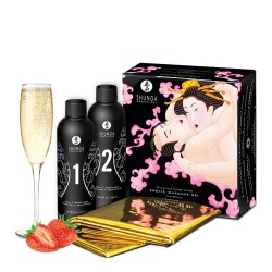 Oriental Body - to - Body - Massage Gel -  Champagne & Strawberries