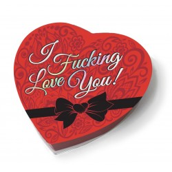 I f'n Love You - Heart Boxed Chocolates