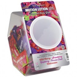 Motion Lotion Elite Fishbowl  Display - 120 Pieces .24 Oz