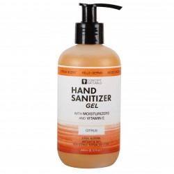 Concept Naturals Hand Sanitizer Gel - Citrus -  8.12 Fl. Oz.