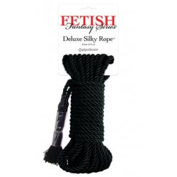 Fetish Fantasy Series Deluxe Silky Rope - Black