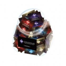ID Assorted Condoms  Jar -  144 Pieces