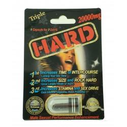 Hard - 20,000mg - 1 Capsule Blister - Each