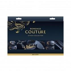 Bondage Couture - 6 Piece Collection - Blue