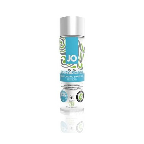Total Body Shave Moisturizing Shave Gel - Fresh  Lime - 8 Fl. Oz. / 240 Ml