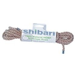 Shibari 5 Meter 100% Natural Hemp Bondage Rope