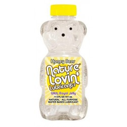 Honey Bear Water-based  Lubricant - 17.3 Oz.