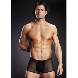 Micro Mesh Trunk - Black - Small/Medium