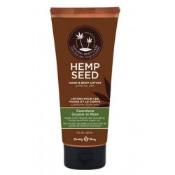 Hemp Seed Hand and Body  Lotion - Guavalava - 7 Fl.  Oz.