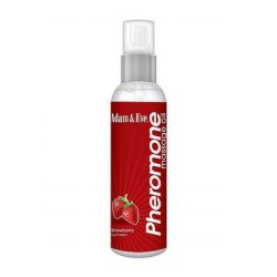 Adam and Eve Strawberry  Pheromone Massage Oil - 4 Oz.
