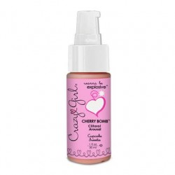 Crazy Girl Cherry Bomb Clitoral Arousal - Cupcake Sweetie - 1 oz.