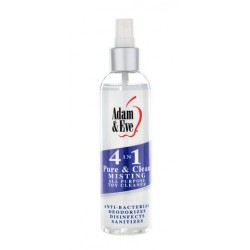Adam And Eve 4 In 1 Pure And Clean Misting Toy Cleaner - 2 oz.