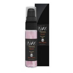 Max 4 Men Max Head Flavored Oral Sex - Berry Orgasmic - 2.2 oz.