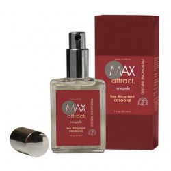 Max 4 Men Max Attract  Pheromone Cologne - Renegade - 1 oz.