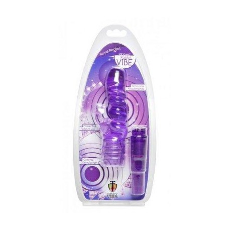Royal Rocket Ribbed Rabbit Vibe - Purple