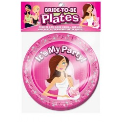 Bride-To-Be Plates - 10 Count