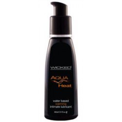 Aqua Heat Water-based Warming  Sensation Lubricant 2 Oz.