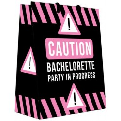 Caution Bachelorette Party  in Progress Gift Bag