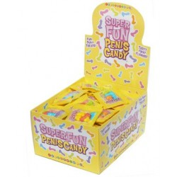 Super Fun Penis Candy - 100 Bag Count with Display