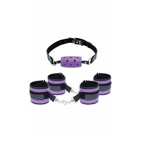 Fetish Fantasy Series Purple Pleasure Set - Purple