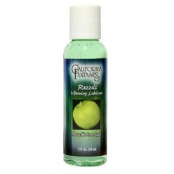 Razzels Flavored, Warming Lubricant  Green Apple - 2 oz.