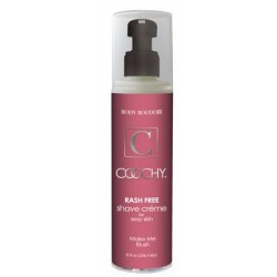 Coochy Rash Free Shave Creme - Make Me Blush - 8 oz.