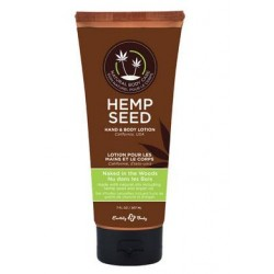 Hemp Seed Hand and Body  Lotion - Naked in the Woods -  7 Fl. Oz.