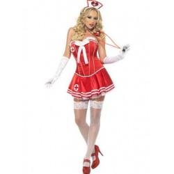 Fever Boutique Nurse Costume  - Large