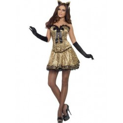 Fever Boutique Kitty Costume -  Medium