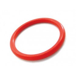 Nitrile Cock Ring Red 2 Inch