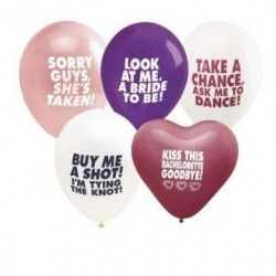 Bachelorette's Last Night Out Balloon Assortment