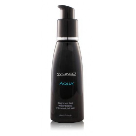 Aqua Water-Based Lubricant - 2 oz.