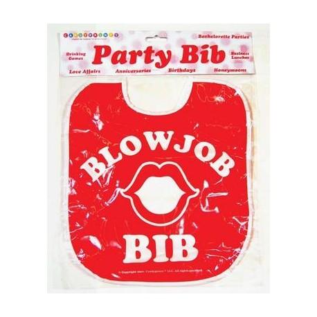 Blowjob Party Bib