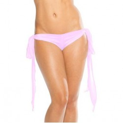 Ribbon Tie Shorts - Baby Pink  - One Size