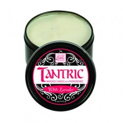 Tantric Soy Massage Candle With Pheromones - White