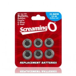 Replacement Batteries AG13 LR44 Button Cell