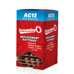Replacement Batteries AG13 LR44 Button Cell 12 - 6 Pack