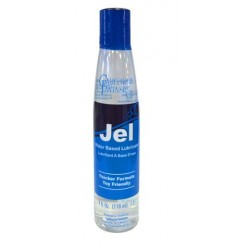 Jel Water-based Gel Lubricant  - 4 Oz. Bottle