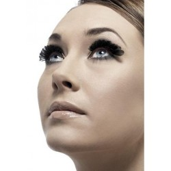 Small Feather Eyelashes - Black