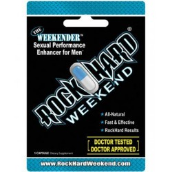 Rock Hard Weekend 1 Pill Blister