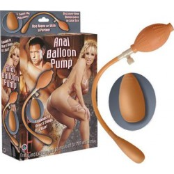 Anal Balloon Pump - Flesh