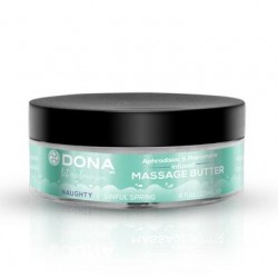 Dona Massage Butter Naughty  Aroma - Sinful Spring - 4 Oz.