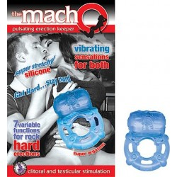 The Macho Pulsating Erection Keeper - Blue