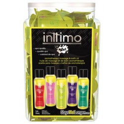 Inttimo by Wet - Bath and Massage Oil - 144 Piece Fishbowl - 10 Ml Pillows