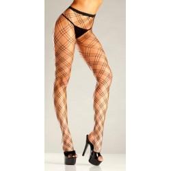 Diamond Net Pantyhose -  One Size