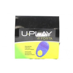 U-vibe U-play Cockrings 24 Count Display - Assorted Colors